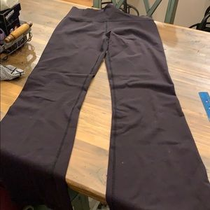 Women's Lululemon Black Athletic Pants
